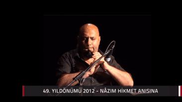 2012 Nazim Hikmet Konser 01 Yavuz Bingol 018 Sarı Gelin