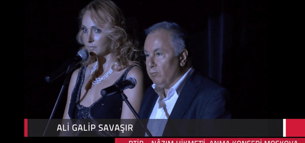 Ali Galip Savaşır'ın Konser Akşamı Konuşması – Nâzım'ı Anma Etkinlikleri 2014