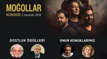 """Nâzım Hikmet'i Anma Törenleri, 2 Haziran 2019 Pazar günü saat 18:00'da Russkaya Pesnya Teatr'da Türk rock müziğinin efsane grubu """"MOĞOLLAR""""ın konseri"""